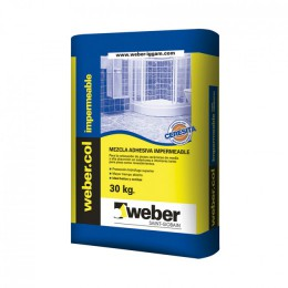 Pegamento Weber Impermeable con Ceresita x 30Kg