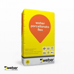 Pegamento Weber Flex Porcellanato x 30Kg