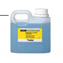 Limpiador Para Pisos y Revestimiento Weber x 1Lt