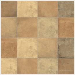 Terre Mix Ladrillo 33 x 33