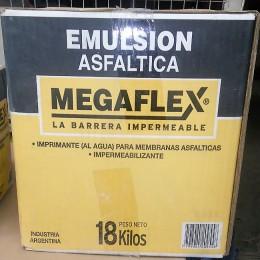 Emulsión Asfáltica Megaflex x 18Kg (Caja)