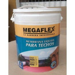 Membrana Liquida para techos Megaflex x 4Kg