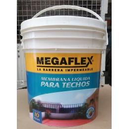 Membrana Liquida para techos Megaflex x 10 Kg