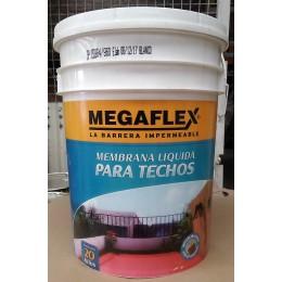 Membrana Líquida para techos Megaflex x 20Kg