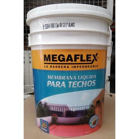 Membrana Liquida para techos Megaflex x 20 Kg