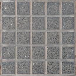 Baldosón Granito Adoquín Negro 30x30 cm