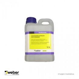 Weber Acelerante x 1Lts de Frague de Cloruro