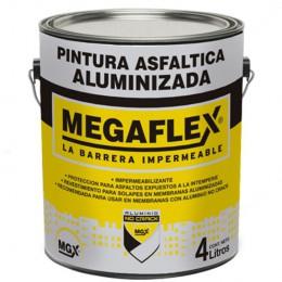 Pintura Asfáltica Aluminizada x 4 Kg.